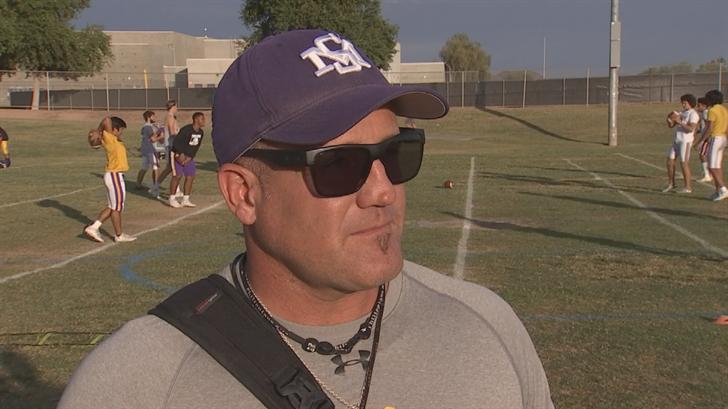 """""""It's definitely an honor,"""" said head coach Steve Decker. (Source: 3TV/CBS 5)"""