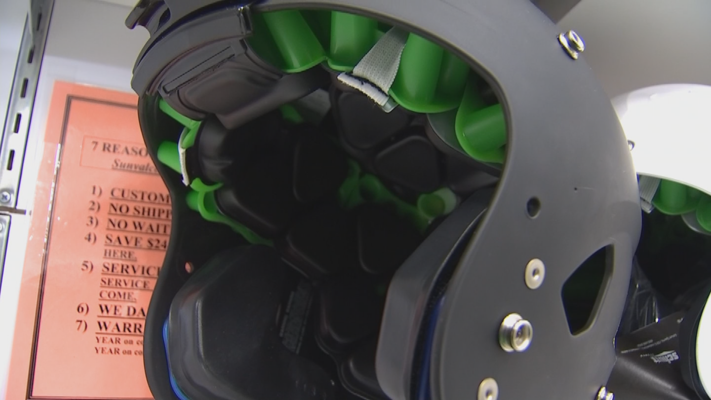 Choosing the right helmet can be somewhat of a difficult task and expensive. (Source: 3TV/CBS 5)