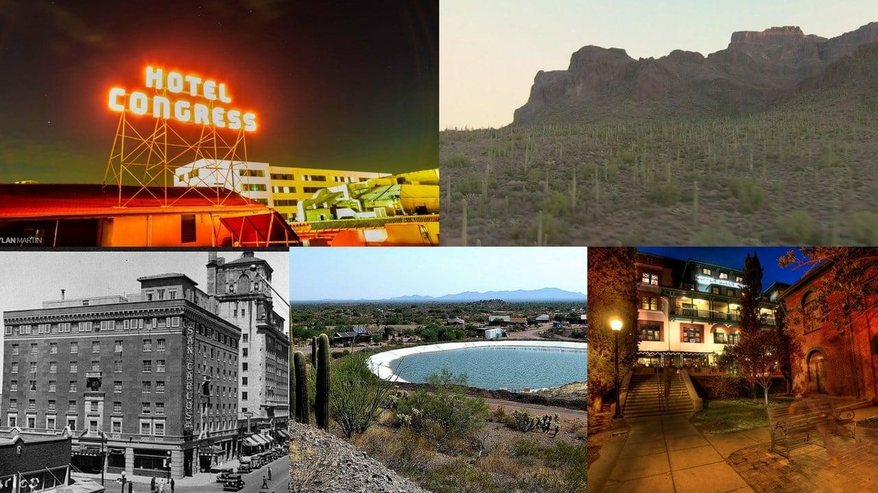 (Source: Hotel Congress, 3TV/CBS 5, Phoenix Public Library, Copper Queen Hotel)