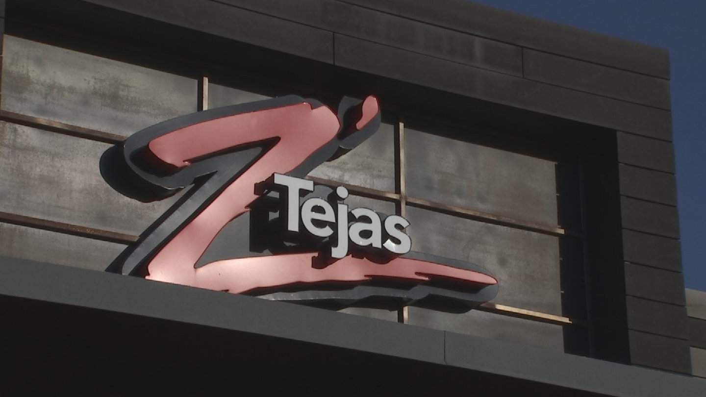 Z'Tejas Southwestern Grill filed a Chapter 11 reorganization case in the U.S. Bankruptcy Court in Phoenix on Monday, a week after closing three Phoenix-area locations. (Source: 3TV/CBS 5)