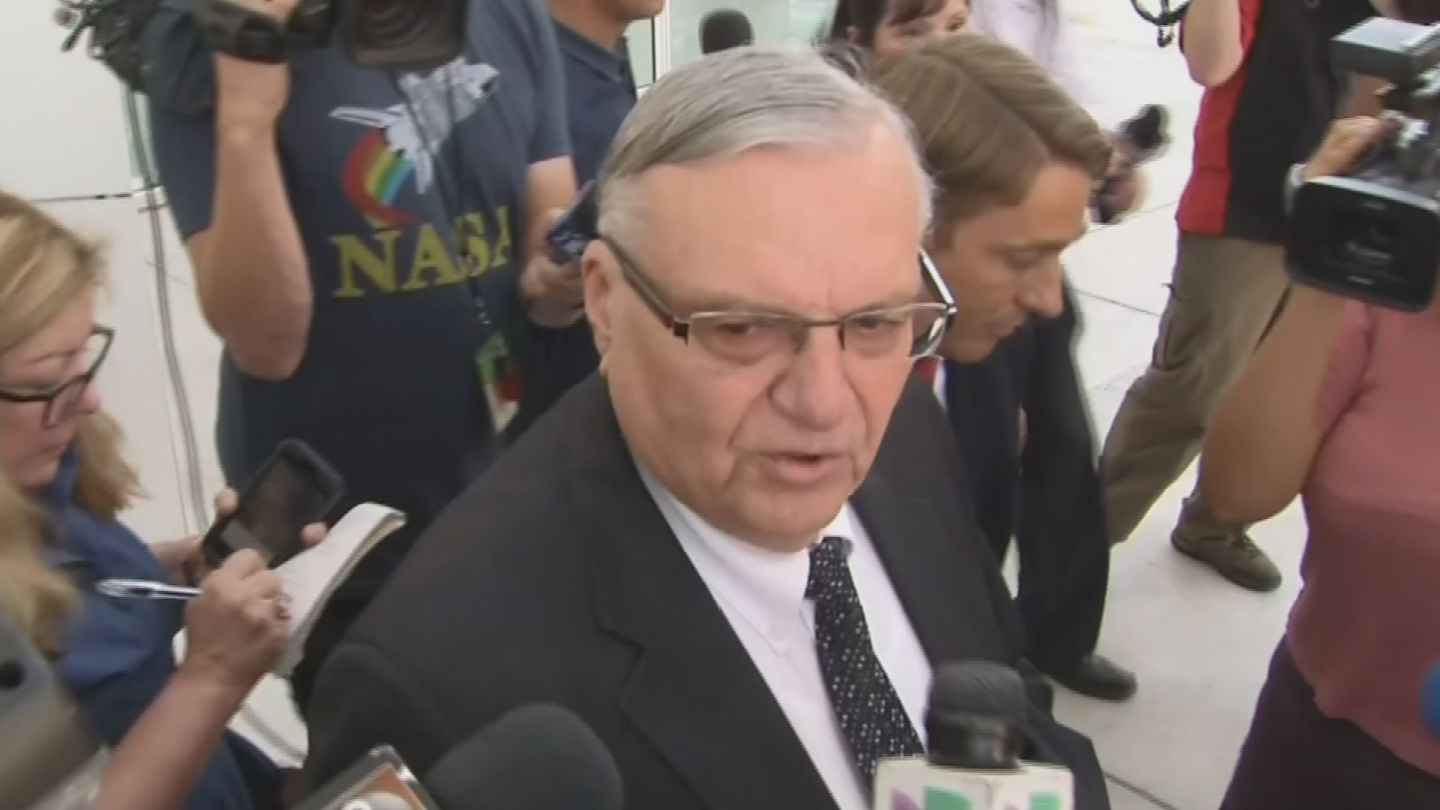 Former Sheriff Joe Arpaio has hit a snag in his bid to have his now-pardoned criminal conviction erased from his record. (Source: 3TV/CBS 5)