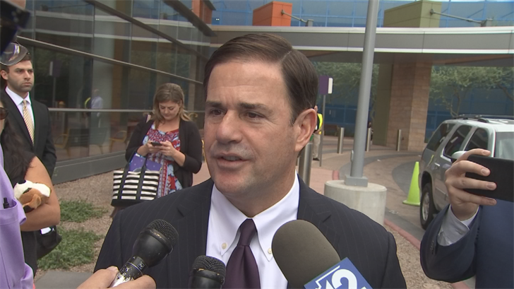 Gov. Doug Ducey said that the new sexual harassment policy may not be enough to curb sexual harassment. (Source: 3TV/CBS 5)