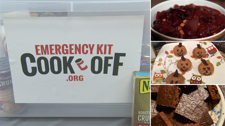 There are a bunch of recipes that can be made using non-perishables in their emergency kits. (Source: 3TV/CBS/DEMA)