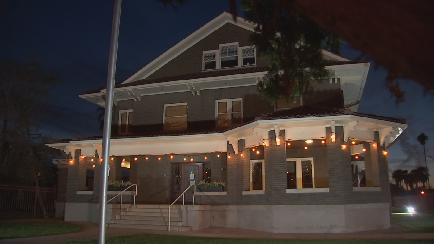 You're able to get a free tour of the 100-year-old mansion. (Source: 3TV/CBS 5)