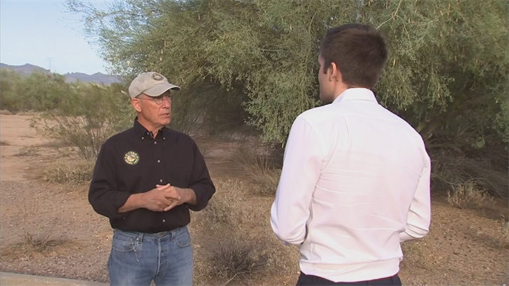 In July, the Arizona Game and Fish Department announced it had received a federal grant to monitor the state's bat populations for signs of the disease. (Source: 3TV/CBS 5)