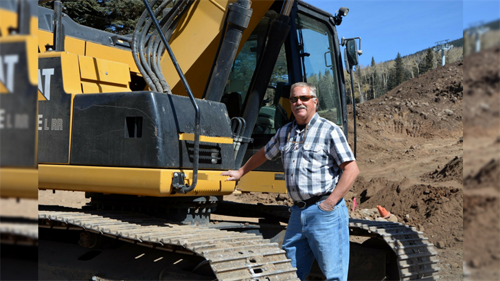 Dale Haglin is the man in charge of making snow at Snowbowl. (Source: Snowbowl)