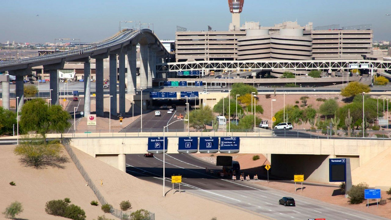 File photo of Sky Harbor Airport (Source: City of Phoenix)
