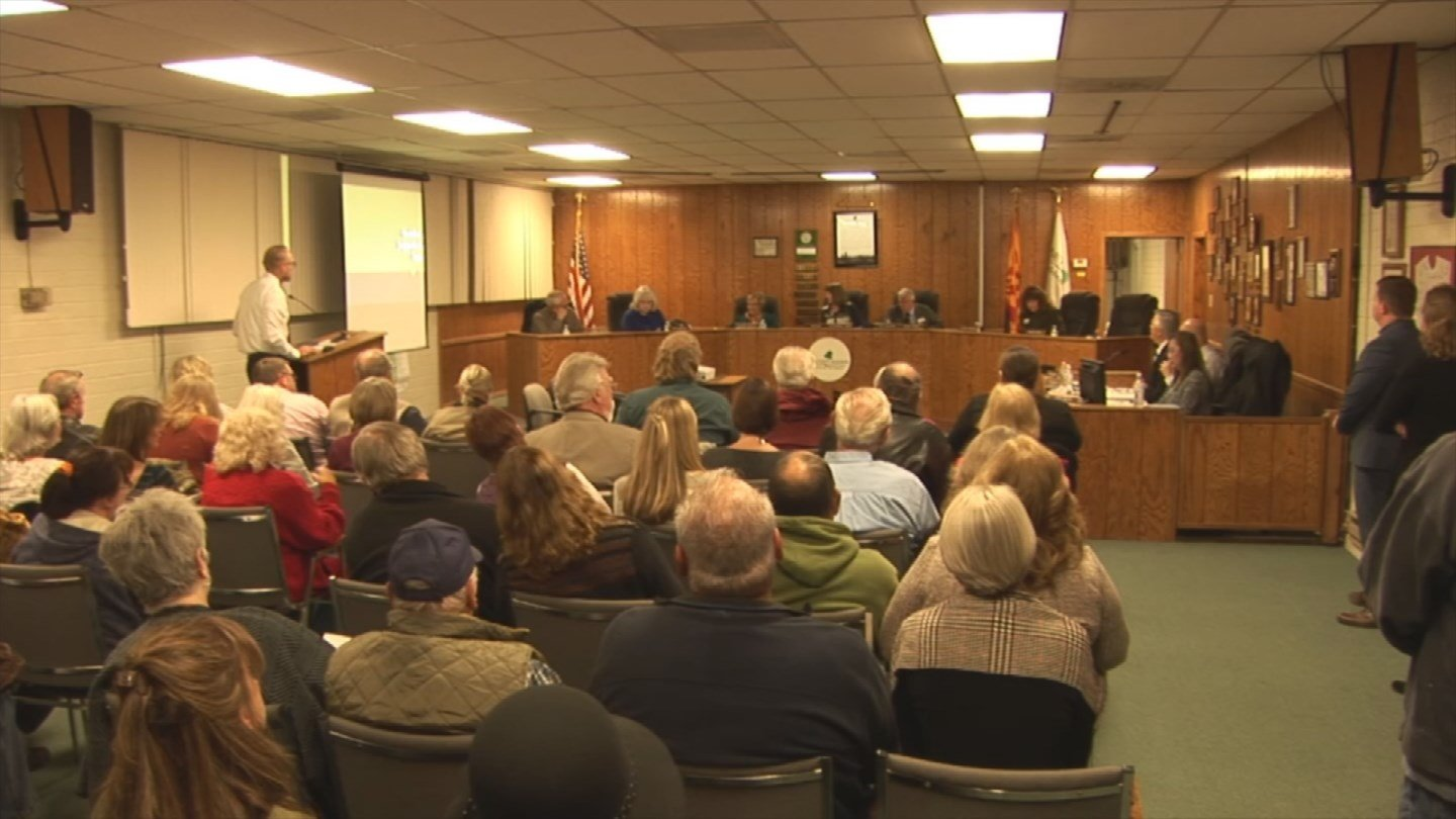 Pinetop-Lakeside residents are fighting a proposed tax increase to repair roads within their community. (Source: 3TV/CBS 5)