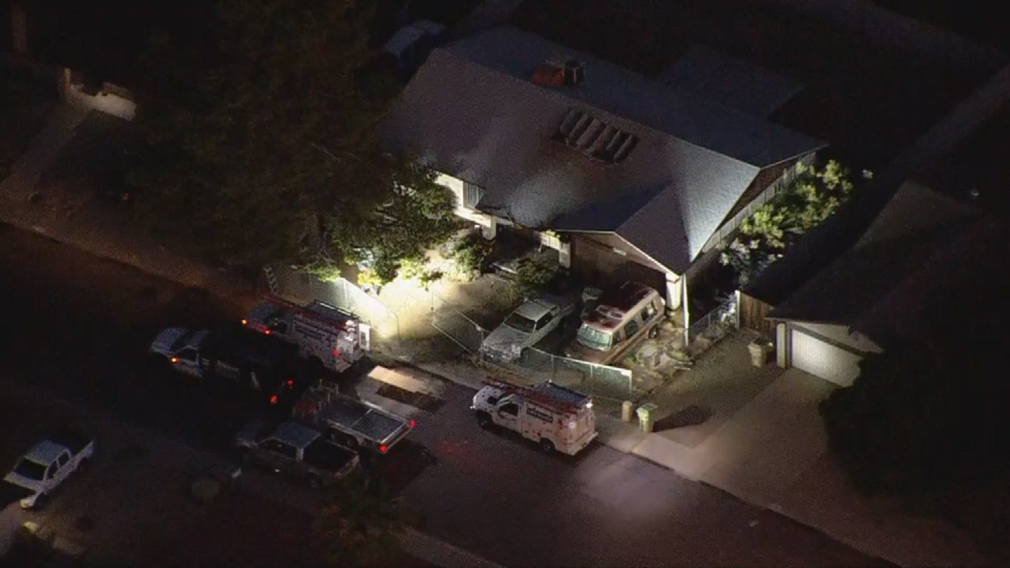 A man was found dead inside a Glendale home after an overnight house fire. (Source: 3TV/CBS 5)