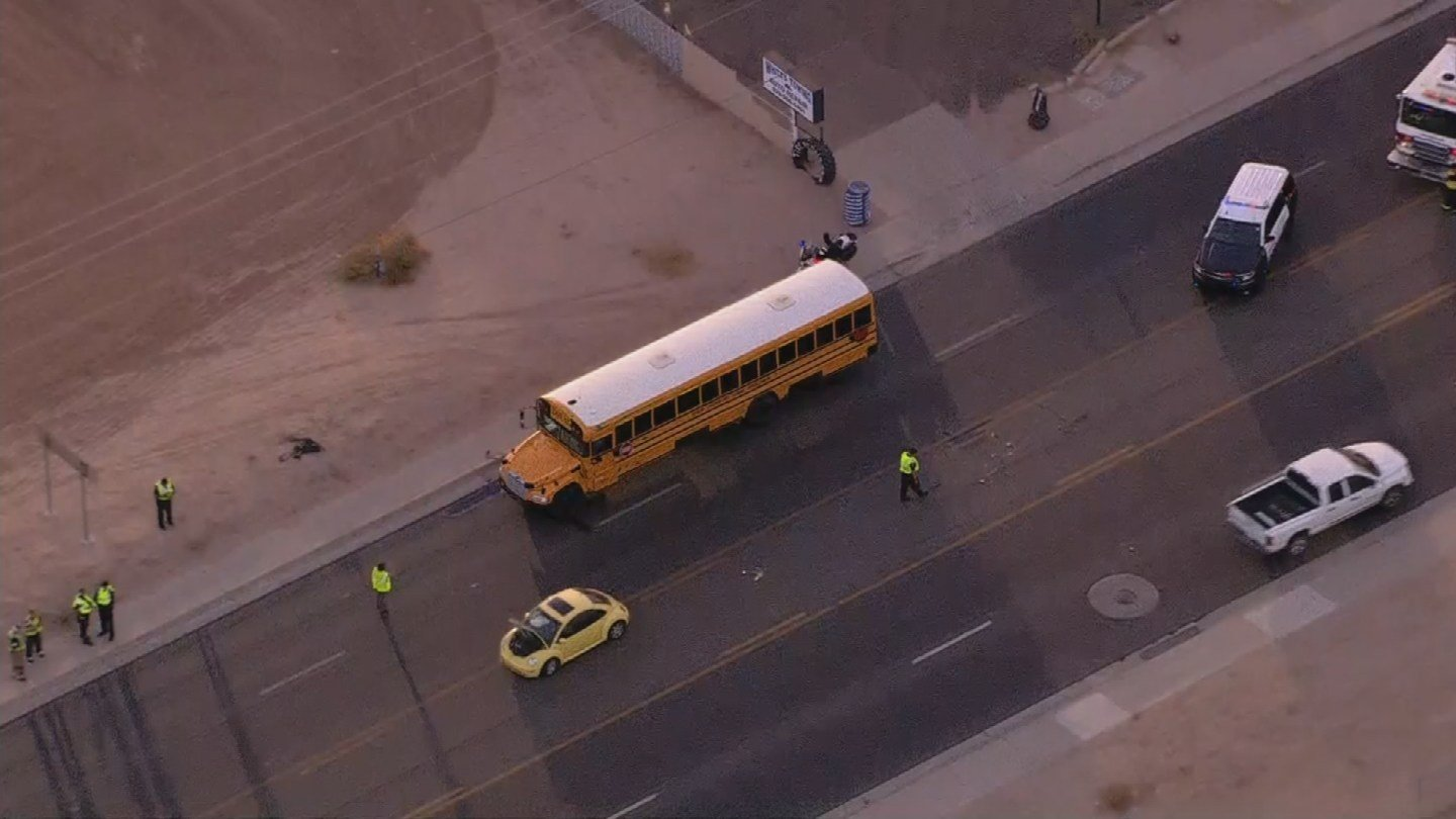 Police said there were no injuries from the accident. (Source: 3TV/CBS 5)