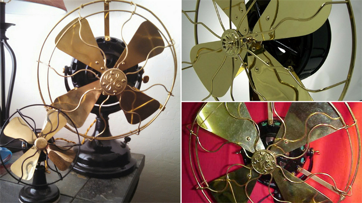 There are people with literally hundreds of these old fans and, believe it or not, some of them are worth a lot of money. (Source: Royal Norman)