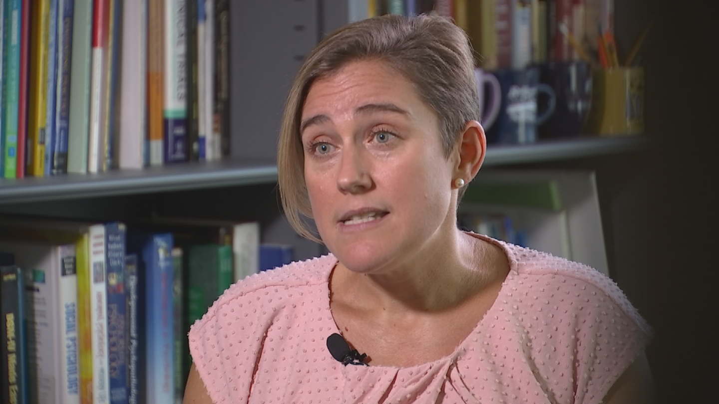 """""""myPlan provides them with information about relationships, red flags,it provides educational information,"""" Dr. Jill Messing said. (Source: 3TV/CBS 5)"""
