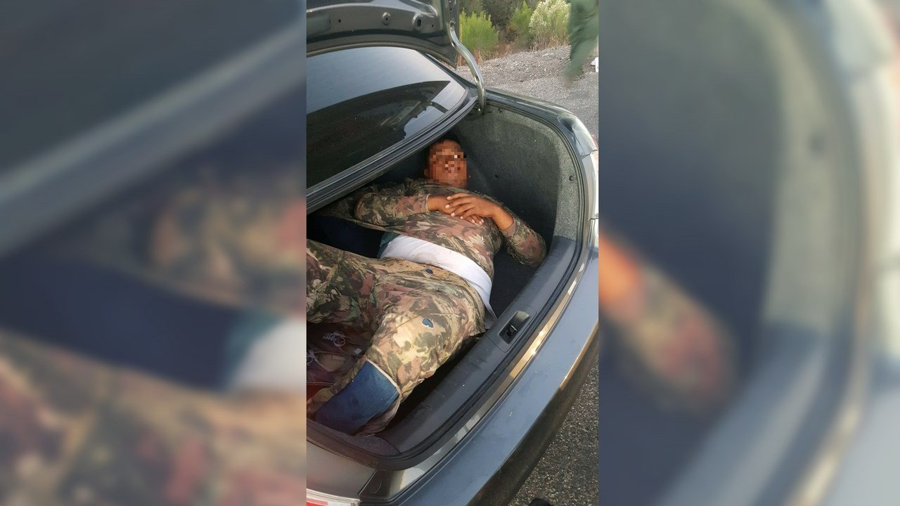 According to agents, two Phoenix women, both 20, were taken into custody last Friday when a 23-year-old man from Mexico was found in their vehicle's trunk. (Source: Tucson Sector Border Patrol)
