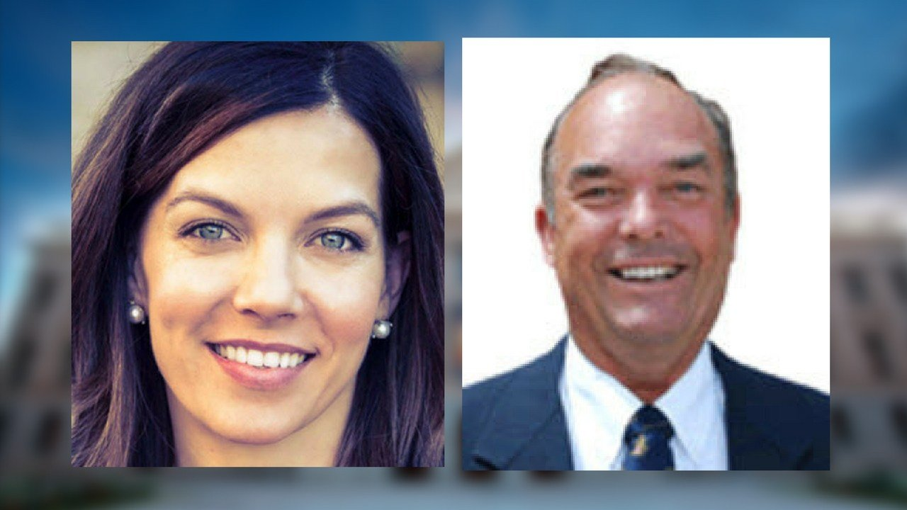 Rep. Michelle Ugenti-Rita, left, and chairman of the House Appropriations Committee, Don Shooter, right. (Source: 3TV/CBS 5)