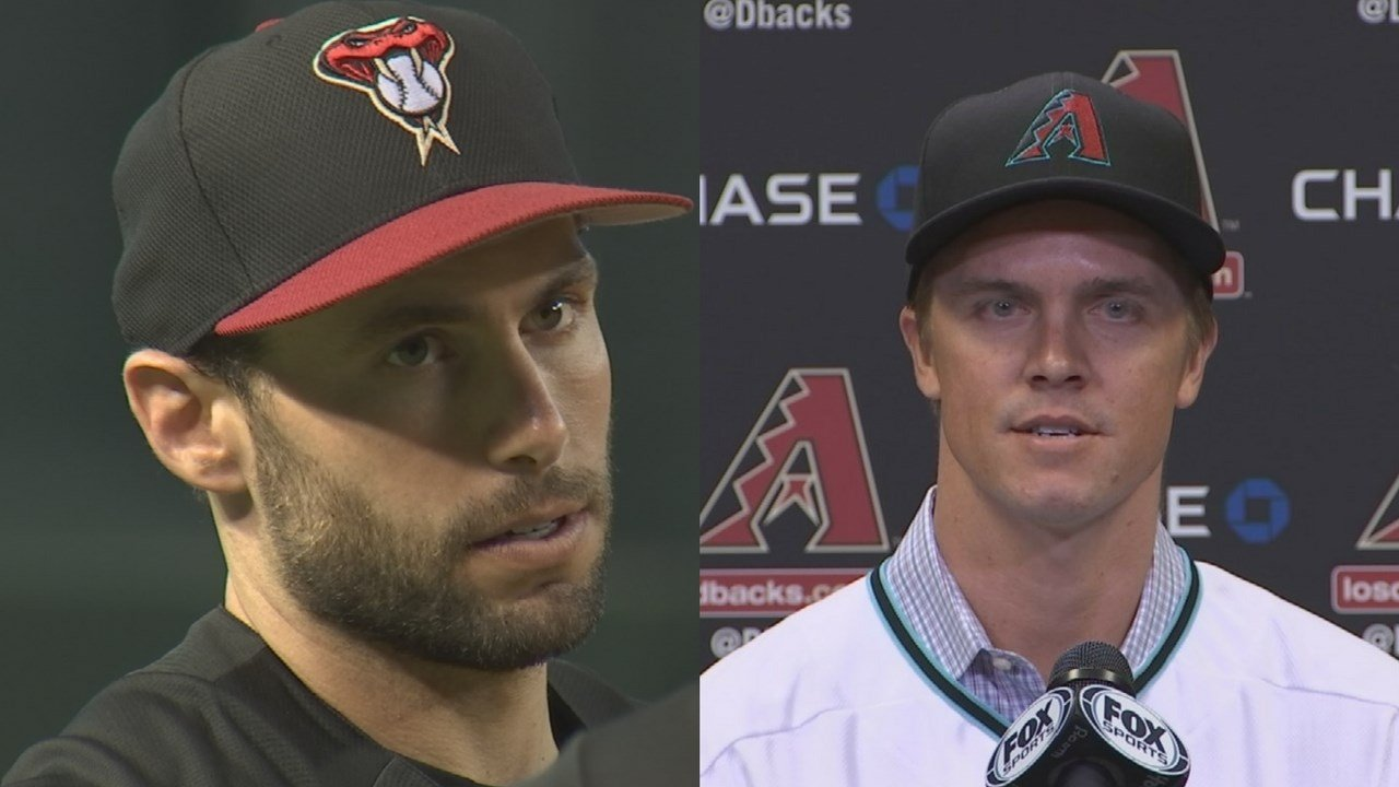 Arizona Diamondbacks' Paul Goldschmidt and Zack Greinke were announced as 2017 National League Gold Glove Award winners Tuesday night. (Source: 3TV/CBS 5)