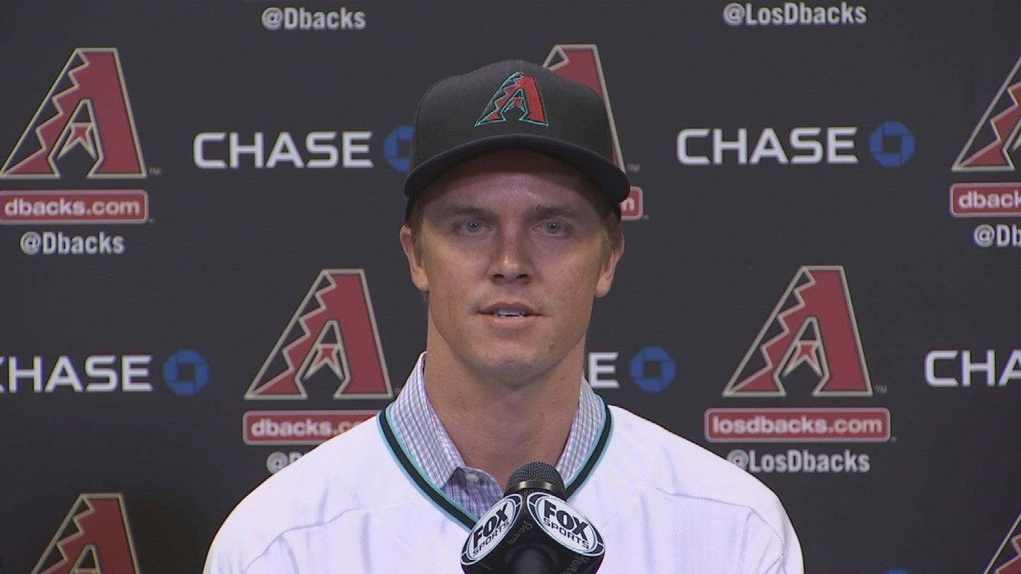 Right-handed pitcher Greinke, 34, won his fourth consecutive Gold Glove Award. (Source: 3TV/CBS 5)