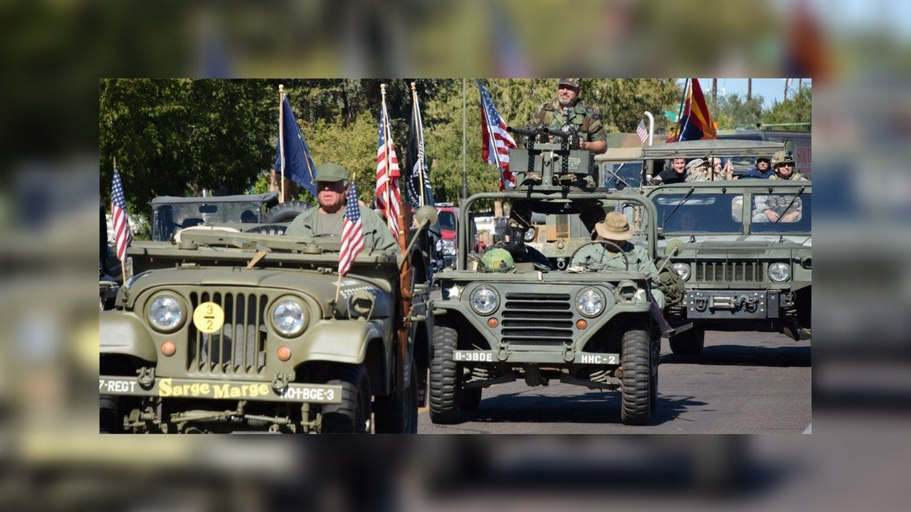 Veterans Day Parade this Saturday, Nov. 11