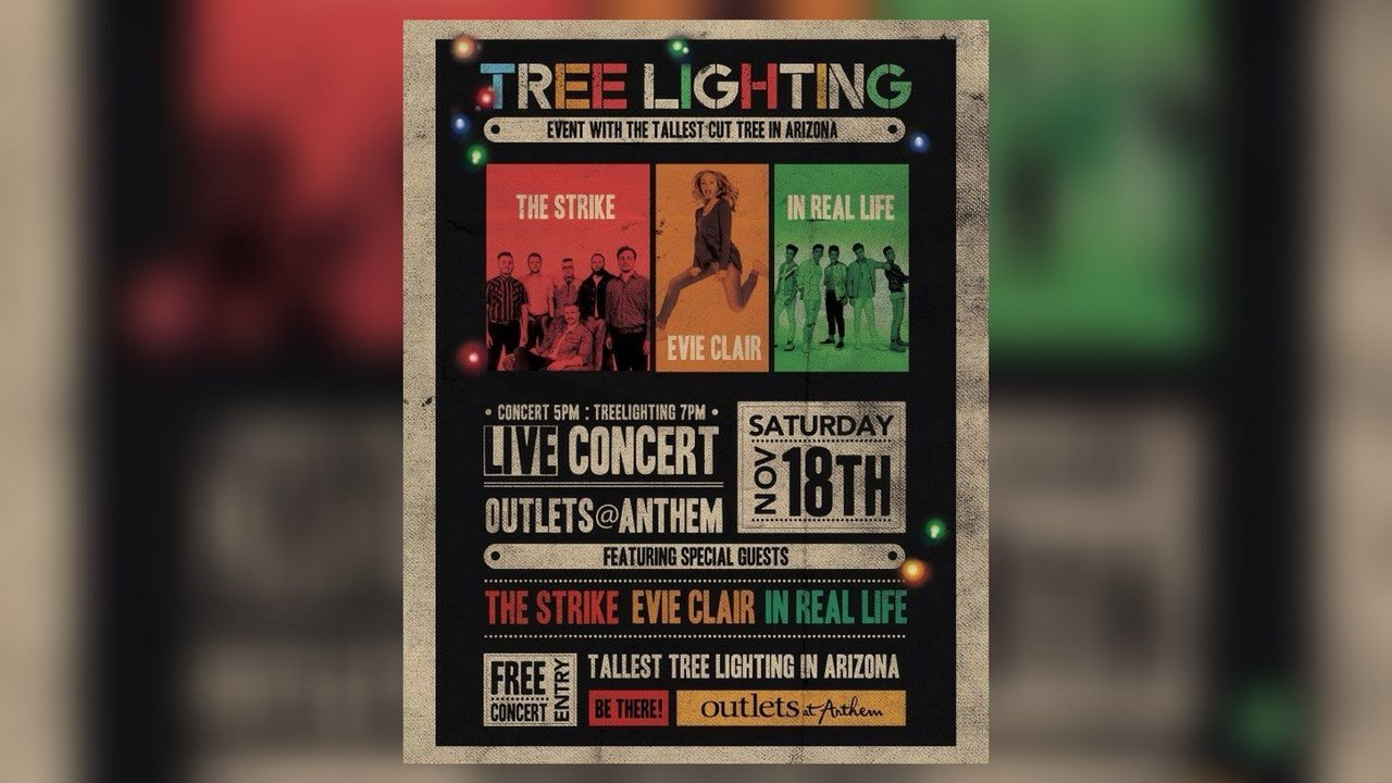 Outlets at Anthem hosts 16th annual Tree Lighting Concert (Source: Anthem Outlets)