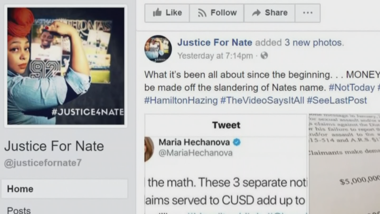 This week, a video posted on a Facebook page called Justice For Nate, claims to show one of the accusers recanting his story. (Source: 3TV/CBS 5)