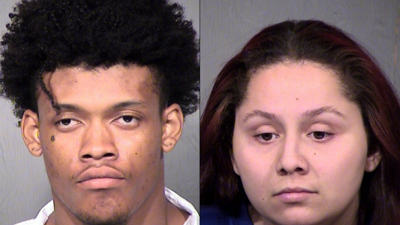 Two adults and four juveniles went on a gas station robbery spree Monday night through Tuesday morning in Phoenix, according to police. (Source: MCSO)