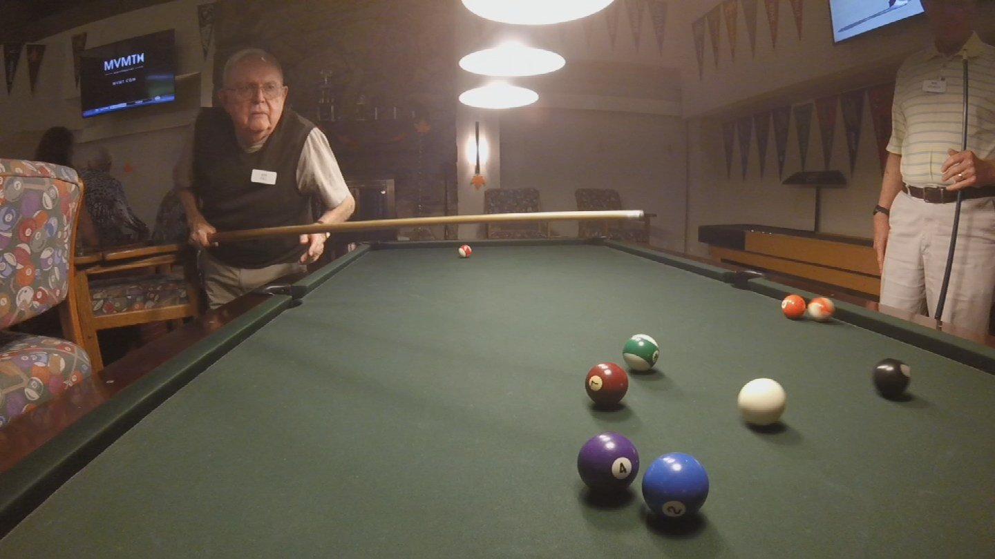 With alcohol, pool, food and big televisions, the retirement community's sports bar looks like any other sports bar you may have been to. Except this one is in a senior living center. (Source: 3TV/CBS 5)