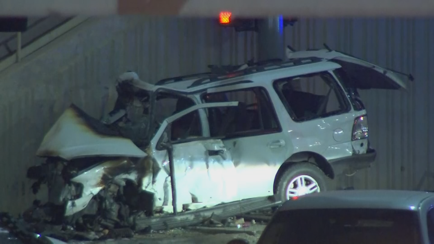 Three people, including two teenagers, were killed in the crash involving a stolen SUV. (Source: 3TV/CBS 5)