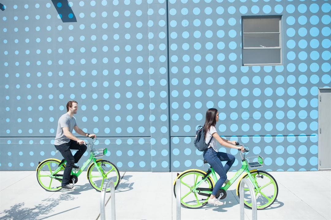 LimeBike bicycles don't have to be docked but come with a smart lock. (Source: LimeBike)