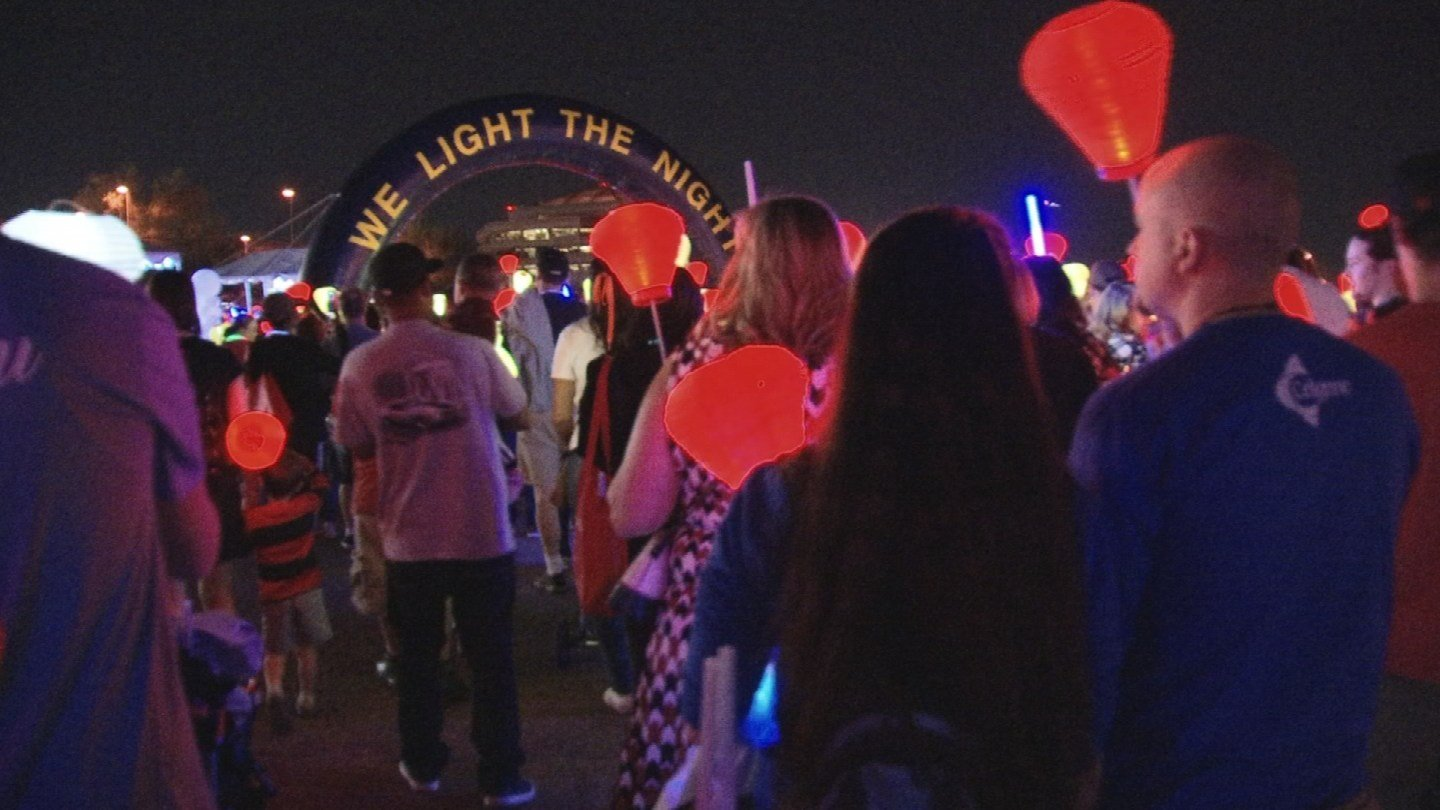 Light The Night is a series of fundraising campaigns benefitting LLS and their funding of research to find a cure for blood cancer. (Source: 3TV/CBS 5)