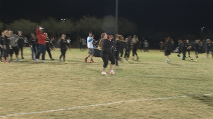 The camp taught players the basics specializing in fundamental football skills. (Source: 3TV/CBS 5)