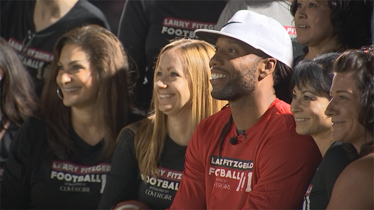 Fitz was all smiles and still has hope for the season. (Source: 3TV/CBS 5)