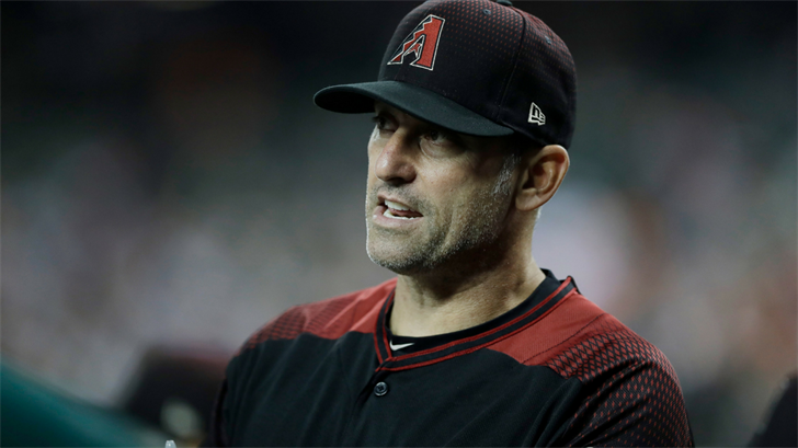 Torey Lovullo won Manager of the Year in his debut season. (Source: The Associated Press)