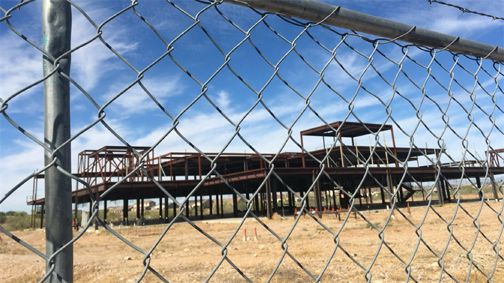 A steel structure has been an eyesore for years in a Peoria neighbor and residents want something done about it. (Source: 3TV/CBS 5)