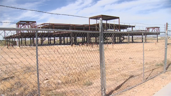 Even though Dr. Johns filed for bankruptcy, he's hopeful to have funding securedin the next 90 days and start construction immediately. (Source: 3TV/CBS 5)