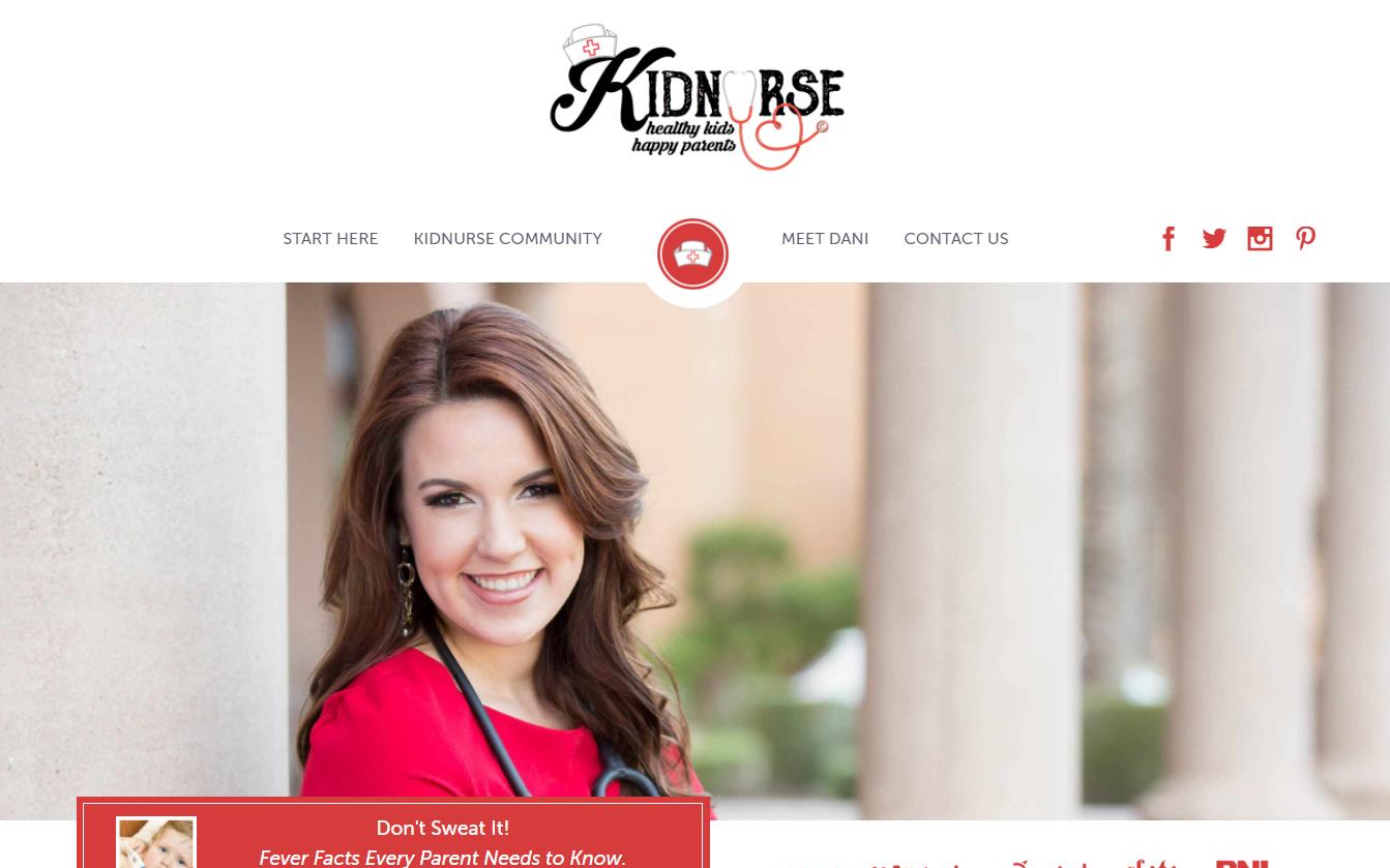 Shecreated a site called KidNurse.org. (Source: Kidnurse.org)