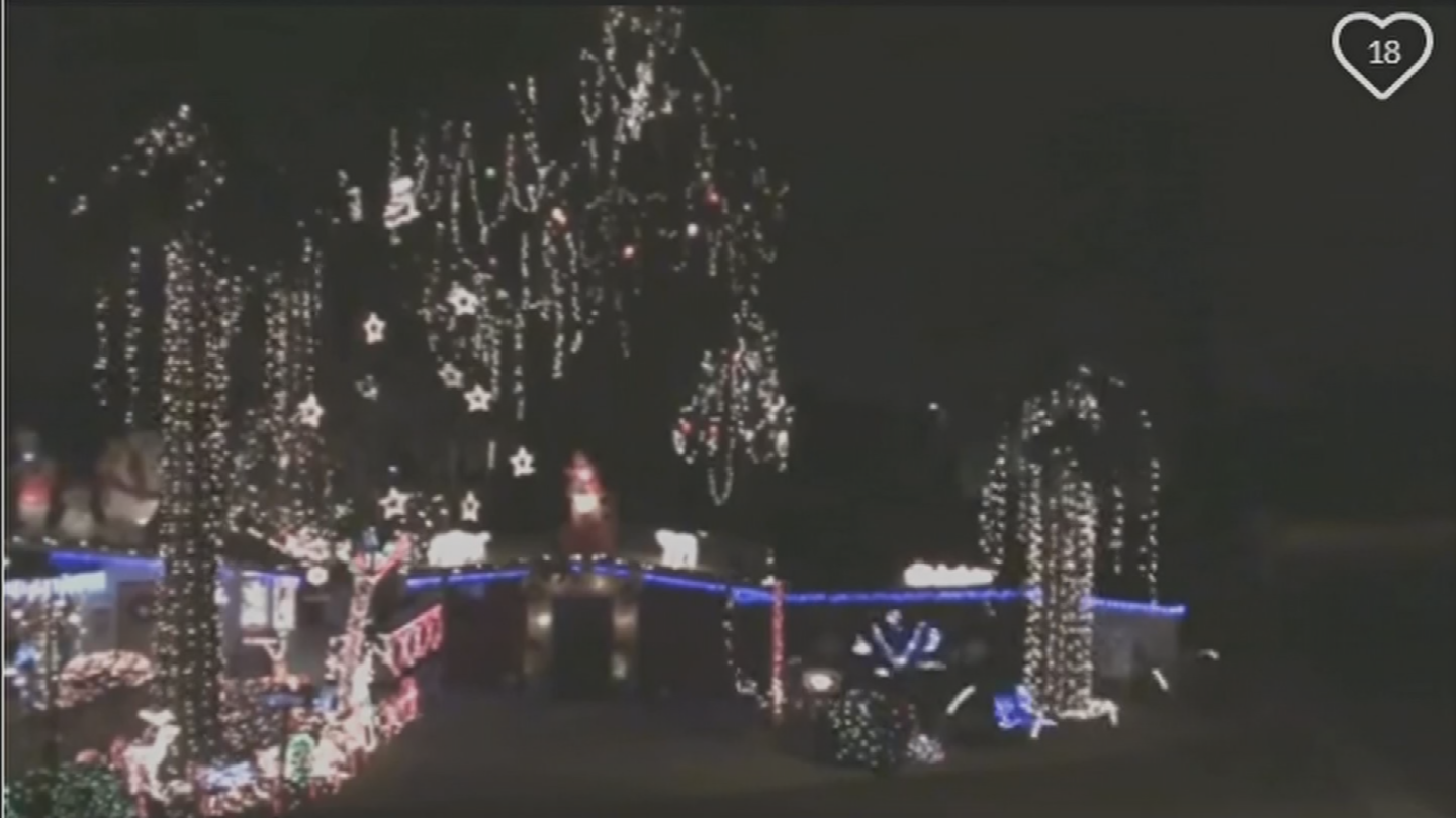 Neighbors complained to the City of Phoenix months ago about the traffic problems his display caused in the neighborhood. (Source: GoFundMe)