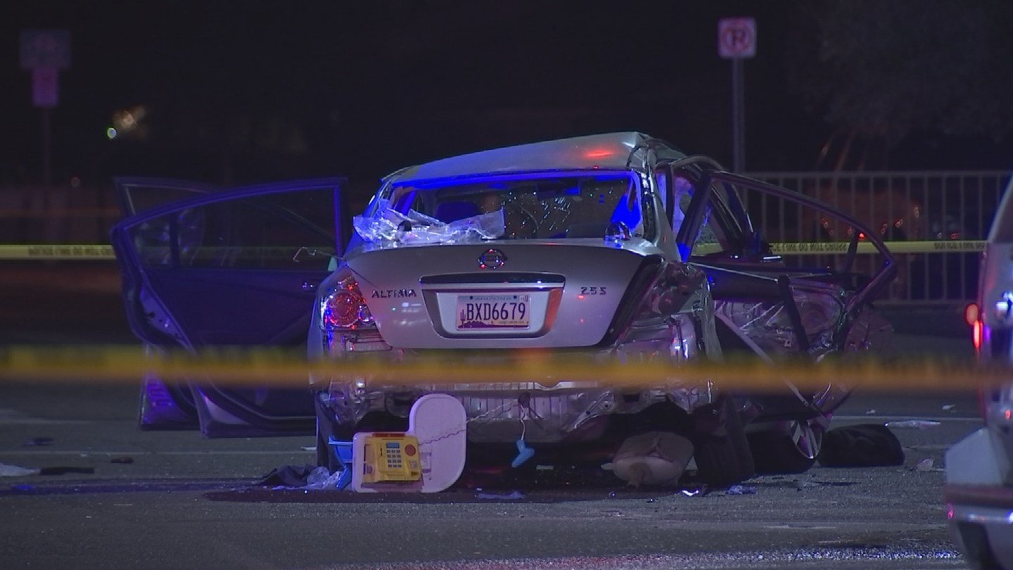 Four of the five patients were transported as immediate patients to trauma centers, but none of the injuries appear life-threatening. (Source: 3TV/CBS 5)