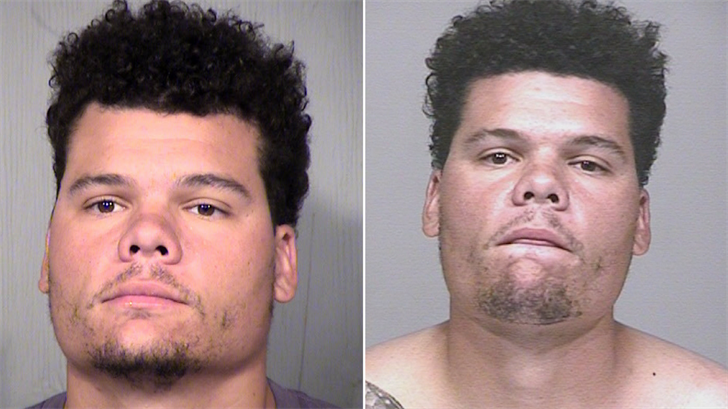 MLB player Bruce Maxwell pled not guilty in Arizona court after he was arrested for allegedly pointing a gun at a female delivery person in Scottsdale last month. (Source: MCSO/Scottsdale PD)