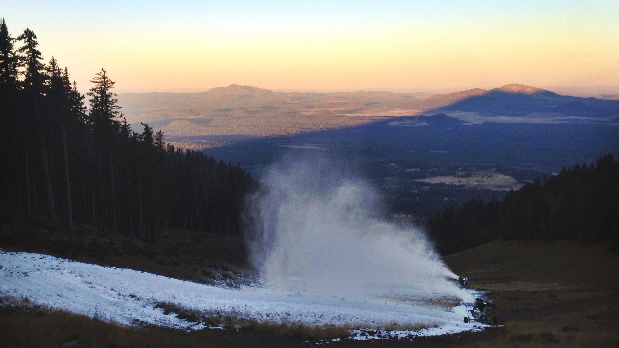 Arizona Snowbowl has delayed their 2017 winter opening due to warm temperatures, according to a release. (Source: Arizona Snowbowl)