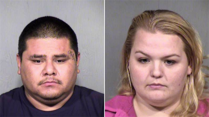 Alexander Reyna, left, and Ashley Stewart, right. (Source: Maricopa County Sheriff's Office)
