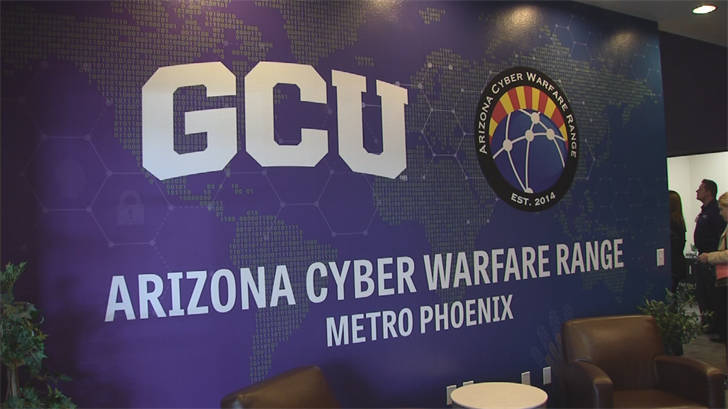 The Valley's second Arizona Cyber Warfare Range debuted on Wednesday. (Source: 3TV/CBS 5)