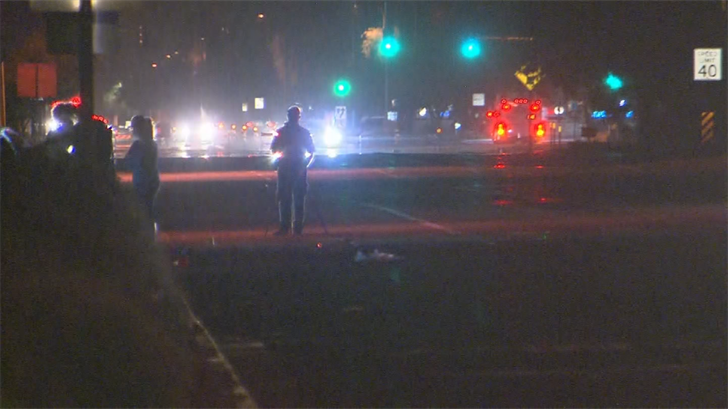 A driver hit a teen girl in west Phoenix. (Source: 3TV/CBS 5)