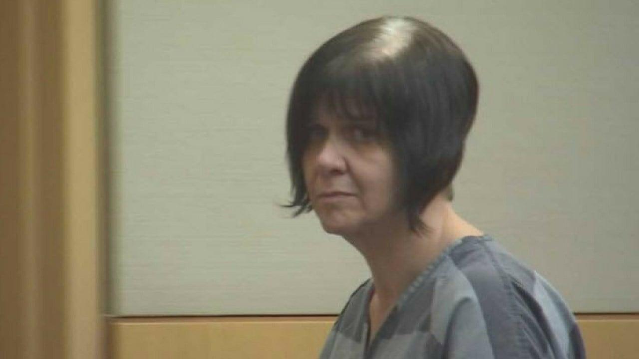 Cassandra Jones in court Thursday (Source: 3TV/CBS 5)