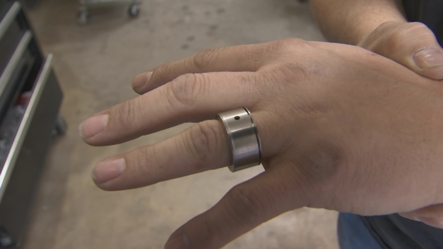 Tom Hemenway received some help to create his custom wedding ring. (Source: 3TV/CBS 5)