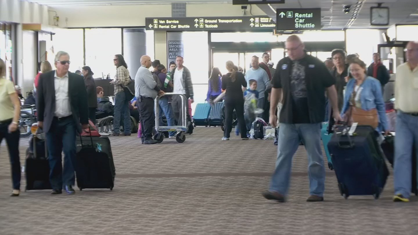 Terminal 3 at Phoenix Sky Harbor International Airport is undergoing a $590 million renovation that's expected to be completed by 2020. (Source: 3TV/CBS 5)