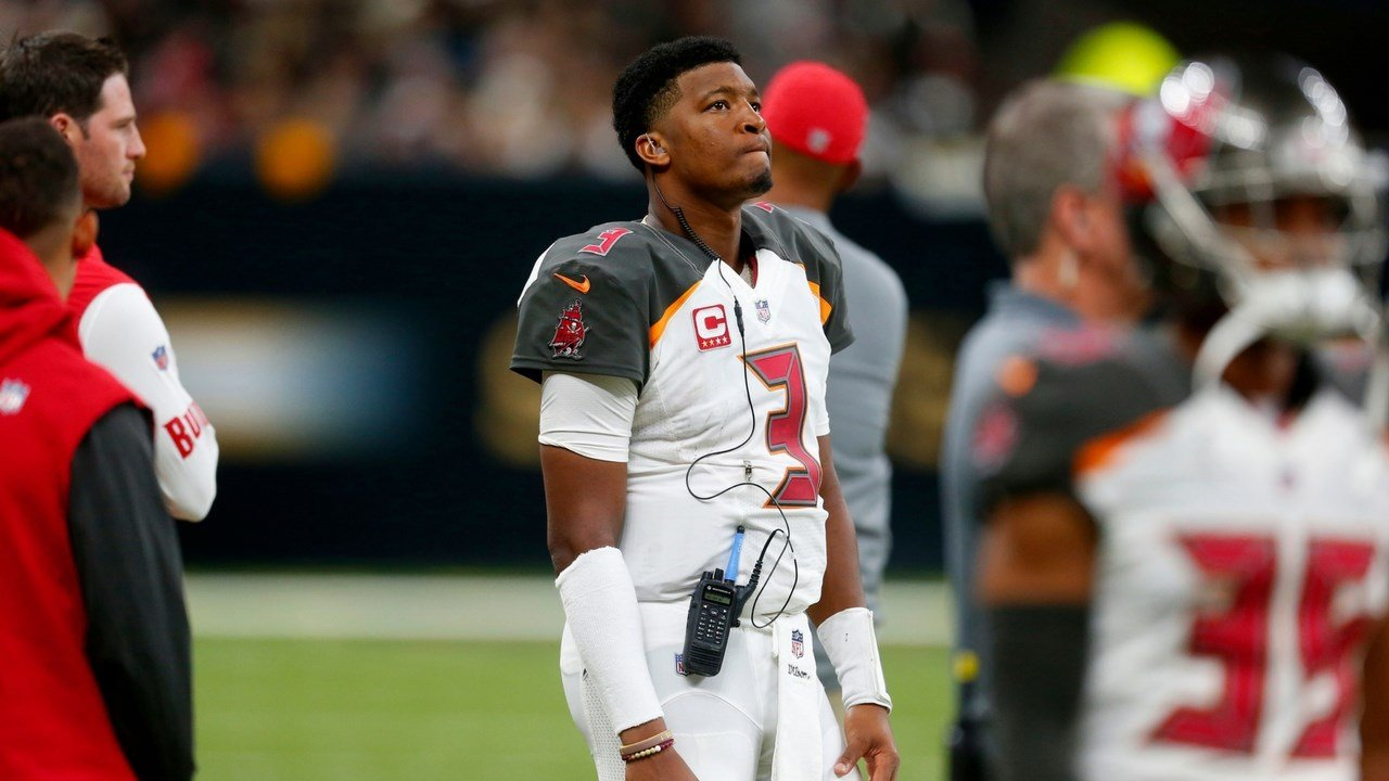 Jameis Winston, quarterback for the Tampa Bay Buccaneers, accused of groping a Scottsdale Uber driver in 2016. (Source: AP photo)