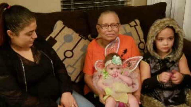 Gloria Lucio and her family (Source: Family photo)