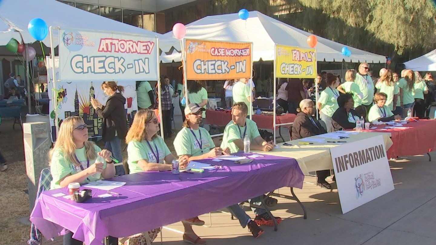 Families made official during National Adoption Month