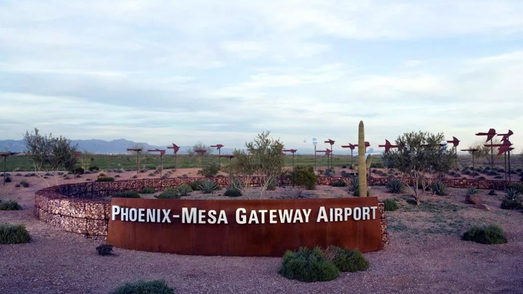 Phoenix-Mesa Gateway Airport. (Source: Courtesy of the Phoenix-Mesa Gateway Airport Authority)