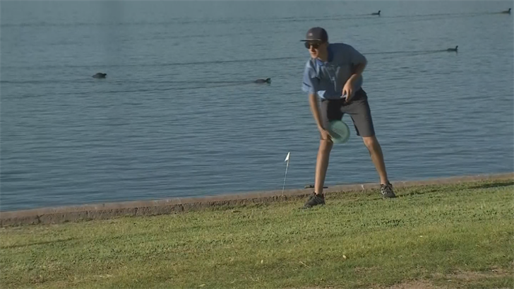 The top disc golfers in the country were in Fountain Hills on Sunday. (Source: 3TV/CBS 5)