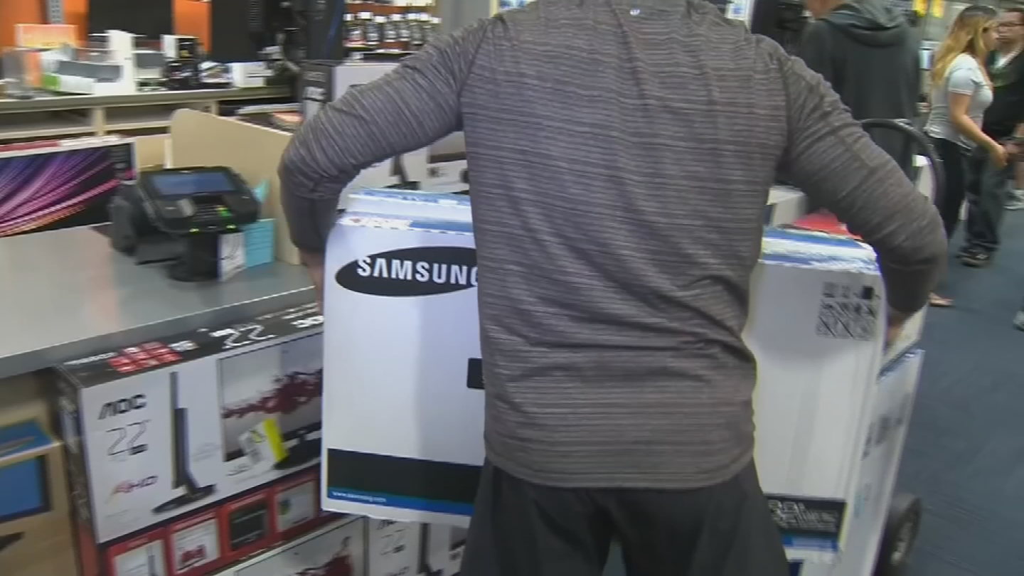 In an attempt to keep some consumers from abandoning brick and mortar stores altogether, some retailers will be offering sales that are only available in their stores. (Source: 3TV/CBS 5)